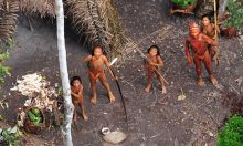 Uncontacted Tribe in the Amazon
