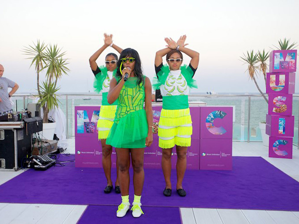 Santigold Makes Waves In Ibiza
