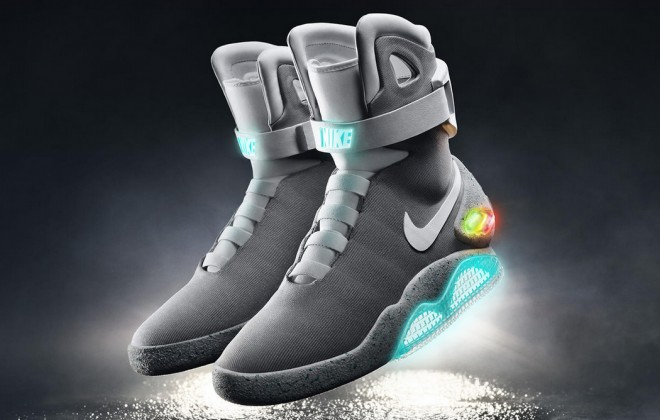 Nike Reveals Back To The Future Shoes With Self-Tying Laces