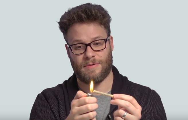 Seth Rogen Teaches You To Roll Joints!