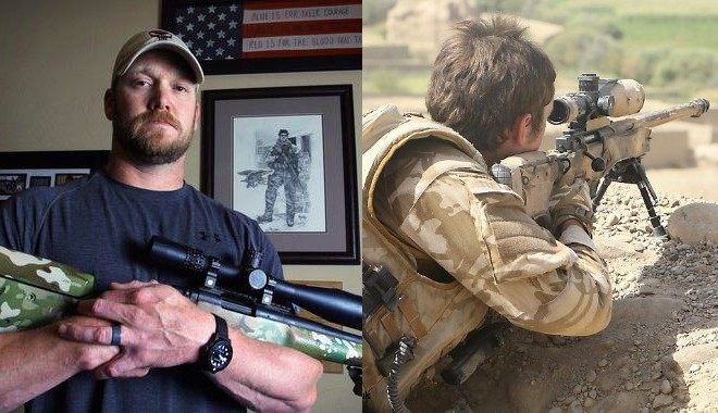 Chris Kyle Vs Unnamed British Sniper