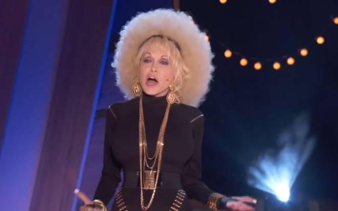 Dolly Parton Raps