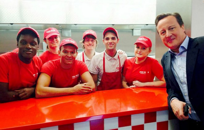 David Cameron Eats Amazeballs Five Guys Before He Gets Crushed By Cassetteboy