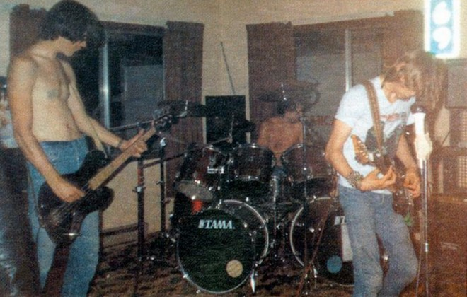 Teenager Discovers Photos From Nirvana's First Ever Gig In 1987