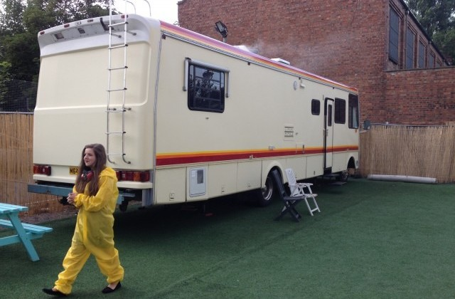 There's A Breaking Bad Pop Up Bar In East London