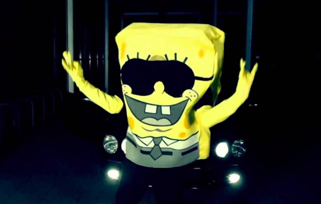 Meet SpongeBOZZ, The Spongebob Squarepants-Inspired Rapper