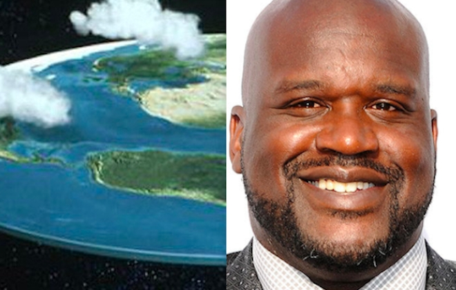 Shaquille O'Neal Supports Flat Earth Theory