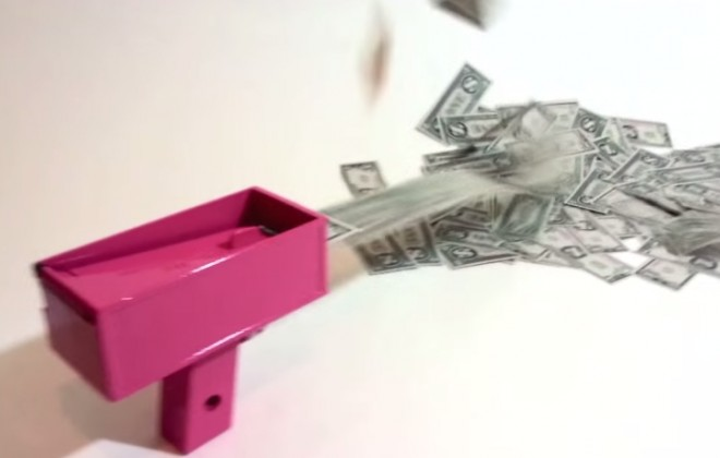Is The Cash Cannon The Best Invention Ever?