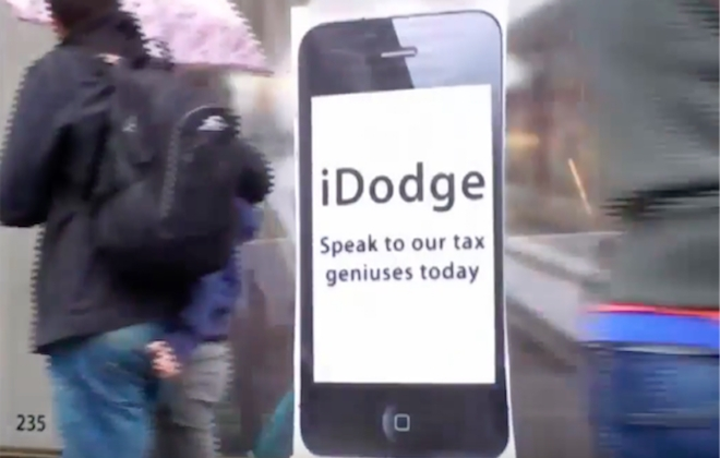 Apple Releases Tax Avoiding App iDodge After EU Ruling #AppleTax