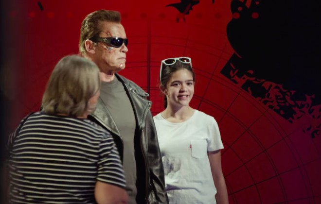 Schwarzenegger Heads To Hollywood As The Terminator