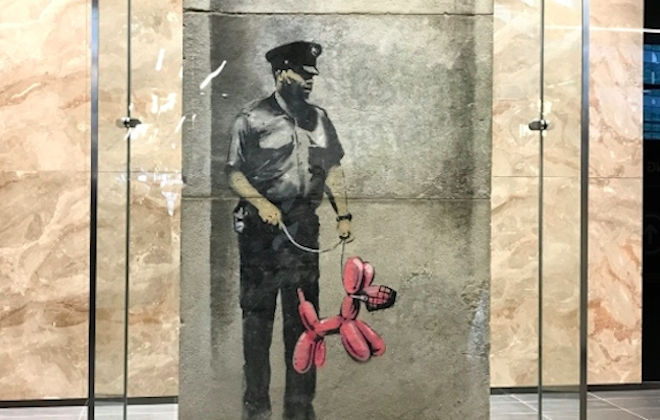 From The Street To The Gallery: Restoring A Banksy Artwork