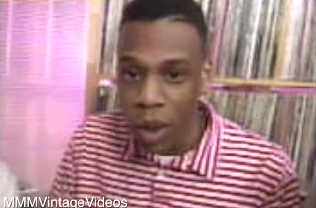 A Very Young Jay-Z In A Very Old Video