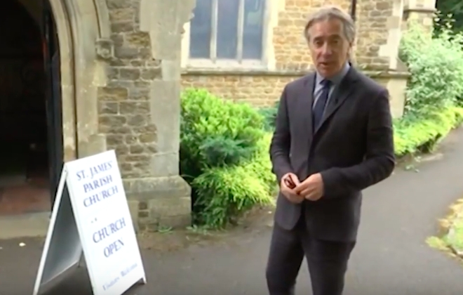 News Reporter Notes How Easy It Is To Massacre A Church