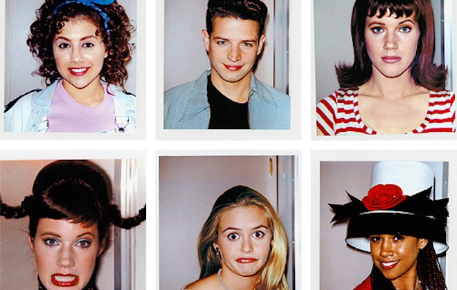 Awesome Polaroids From The Set Of Clueless