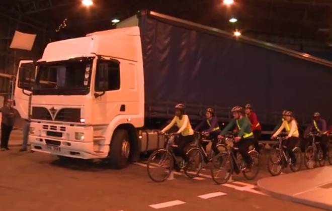 Cyclists Beware: HGVs Will Get You