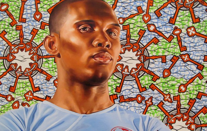 Footballer Portraits By Kehinde Wiley