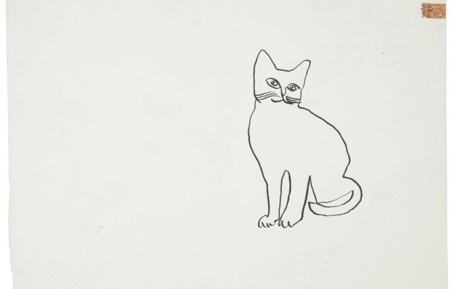 Andy Warhol's Animal Sketches