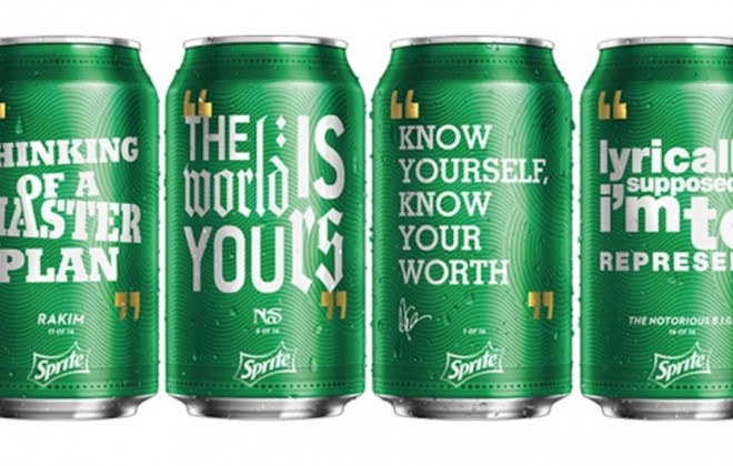 Rap Lyrics To Appear On Sprite Cans