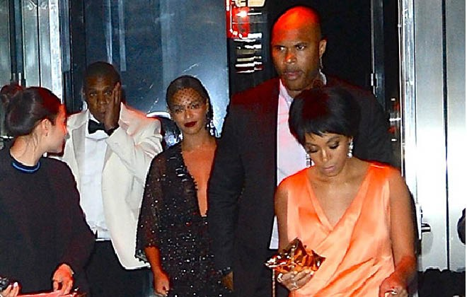 Jay Z, Beyonce & Solange issue statement over the recent elevator incident