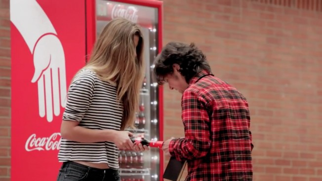 Coca-Cola's Friendly Twist