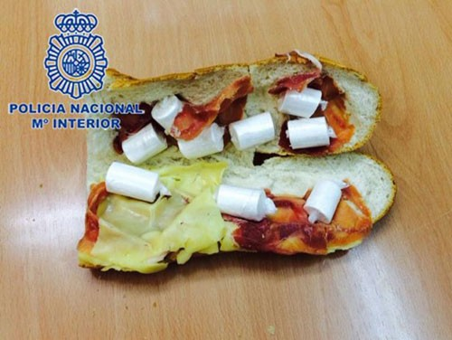 A Cocaine Sandwich Has Been Found On A Man In Benidorm