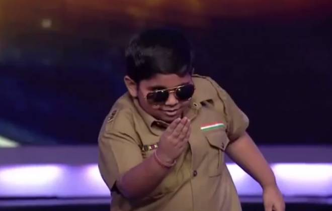 Indian Kid Tears Up Stage, Steals Your Girlfriends