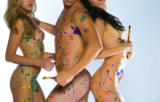 The London Naked Painting Party