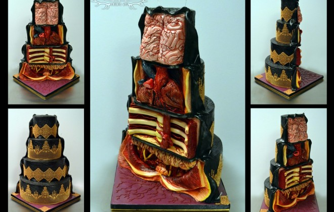 Gross Internal Organ Cake Really Sucks A Bag Of Dicks