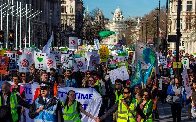 Join The Climate March In London