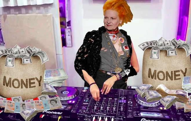 Vivienne Westwood To Host Anti-Tax Club Night At Fabric