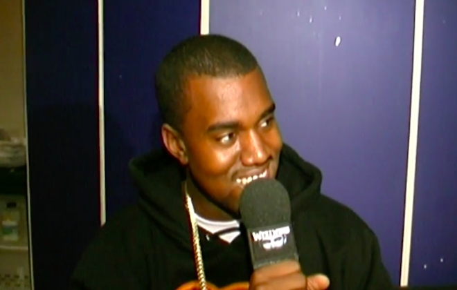 A Never-Seen-Before Kanye West Freestyle From 2004