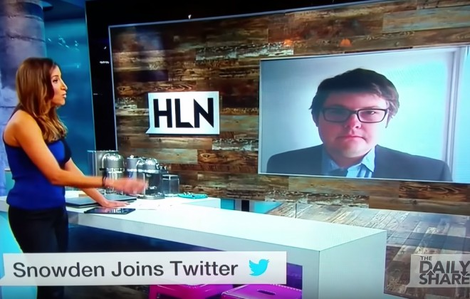 Guy Trolls News Anchor By Discussing Edward Scissorhands, Not Snowden