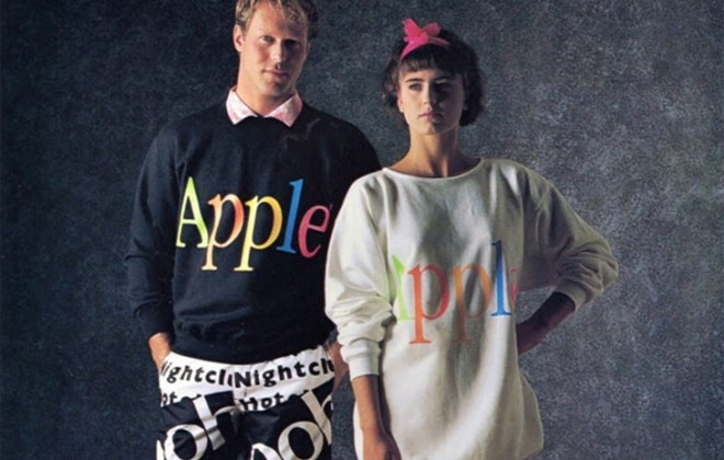 Check Out Apple's Totally Rad Clothing Line From 1986