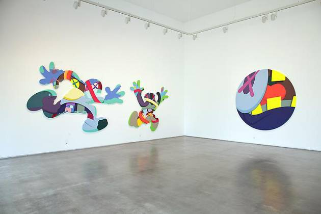 KAWS' PLAY YOUR PART at Galeria Javier Lopez