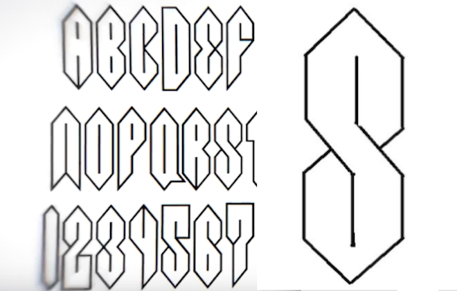 The Super S Gets Its Own Cool Font