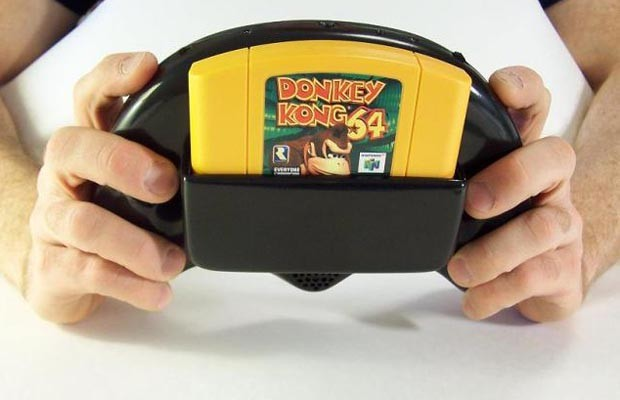 Someone Has Built a Portable N64 Handheld System