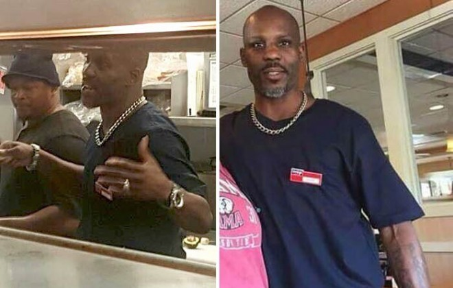 DMX Leaves Prison, Goes Straight To Diner, Helps Cook Chicken Omelette