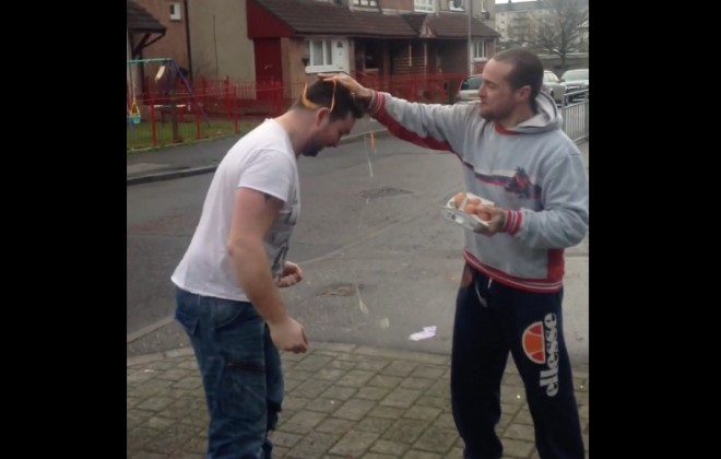 Having 6 Eggs Smashed Over Your Head For £30 Is Genius
