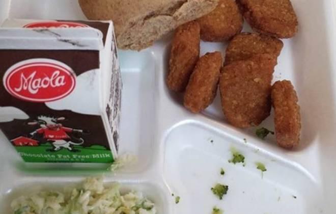 Unappetising School Meals