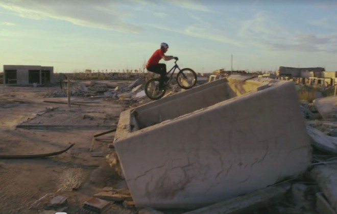 "Danny MacAskill's ""Epecuén"" Riding Film"