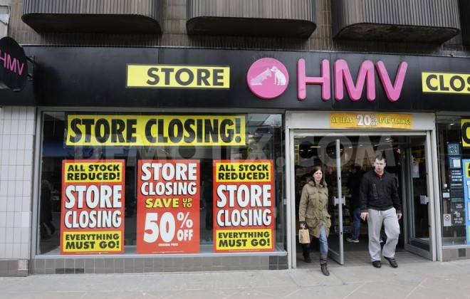 The return of HMV