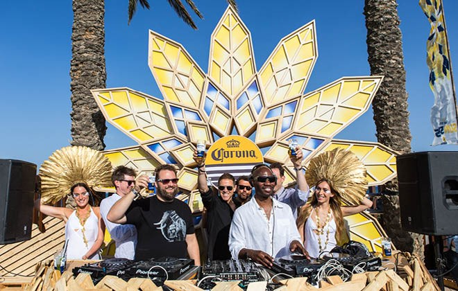 Corona SunSets: A new music experience