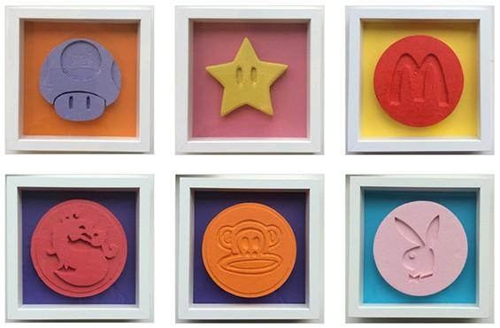 Ecstasy Pill Sculptures