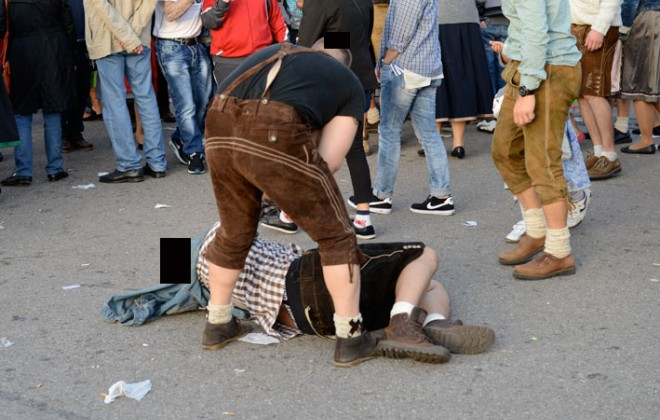 Gross Photos From Oktoberfest