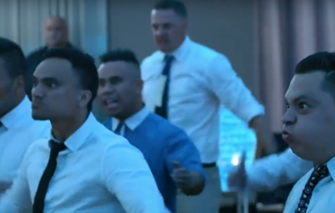 A New Zealand Wedding Haka