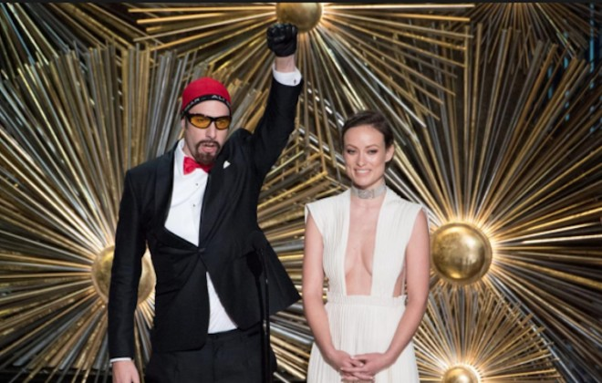 How Ali G Snuck Into The Oscars