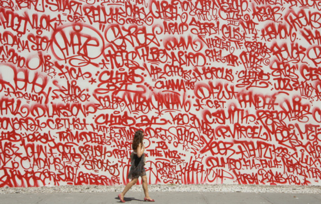 Barry McGee On Tagging