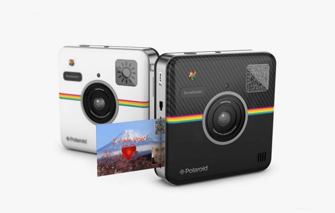Polaroid Socialmatic Camera Officially Launches at CES 2014