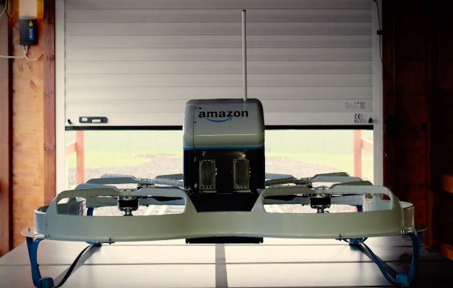 Amazon Drone Completes First Delivery