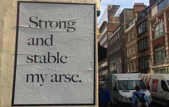Best of UK Election Street Art